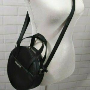 New Madden Girl Round Black Crossbody Canteen Bag